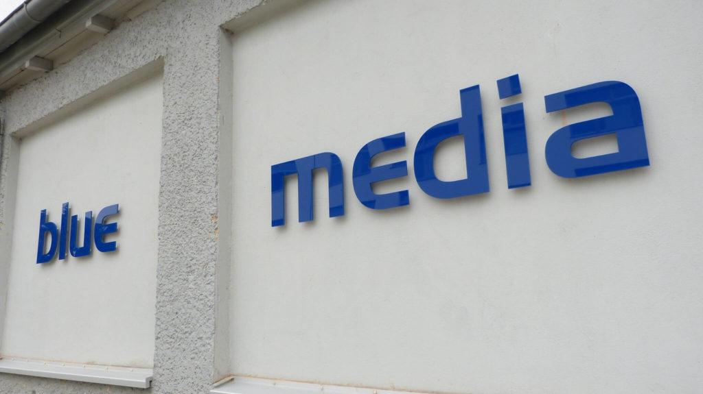 blue media event Berlin