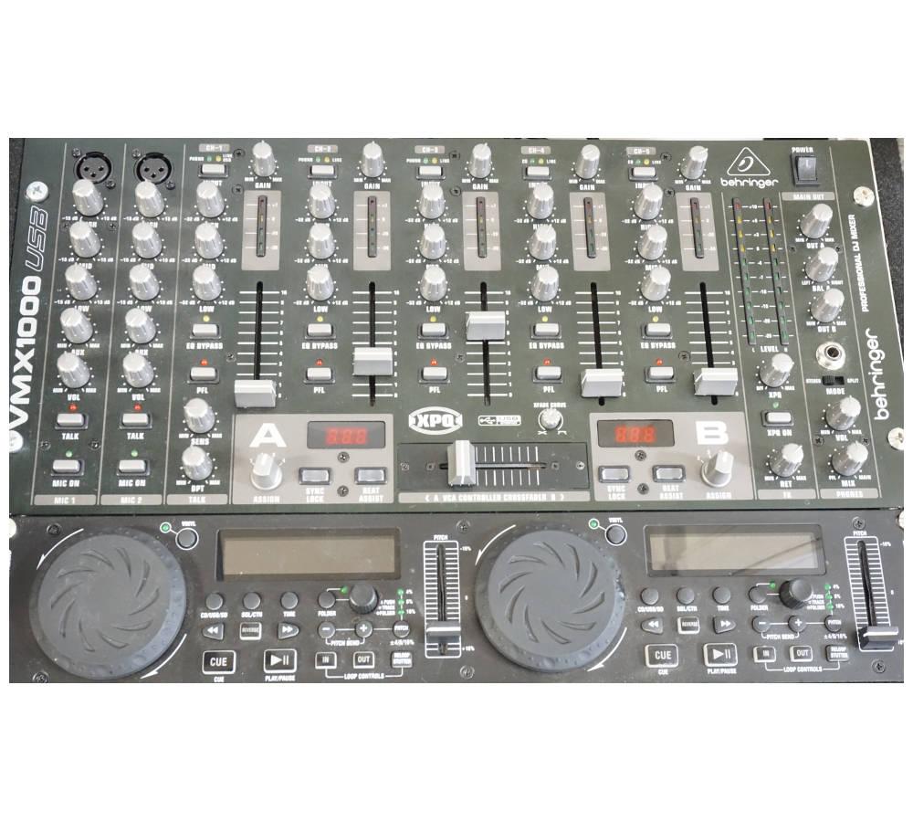 DJ-Anlage mieten DJ-Paket Verleih Berlin