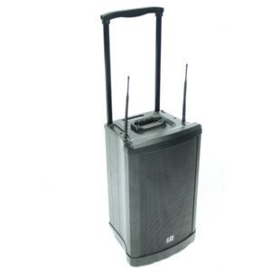 mobile Box akkubetriebener Lautsprecher mobile Tonanlage netzunabhängig mobile Mikrofonanlage