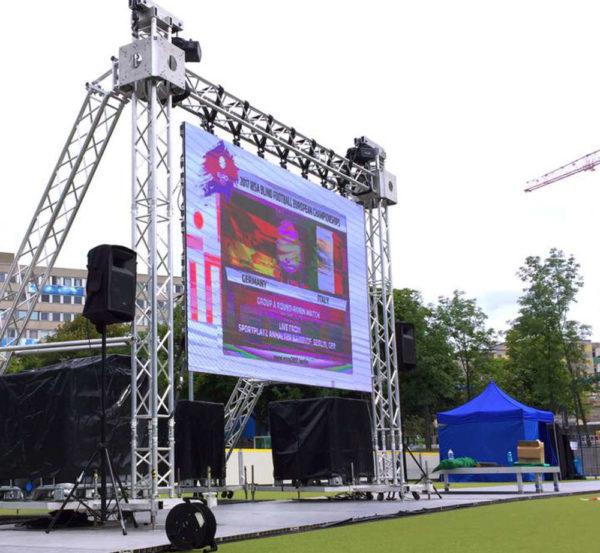 LED-Wand ausleihen LED-Videowand mieten outdoor Berlin