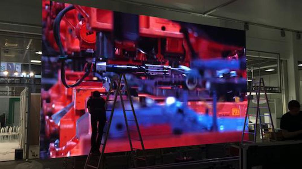 LED Videowand Video-Leinwand Berlin mieten ausleihen Miete Leihe rent rental