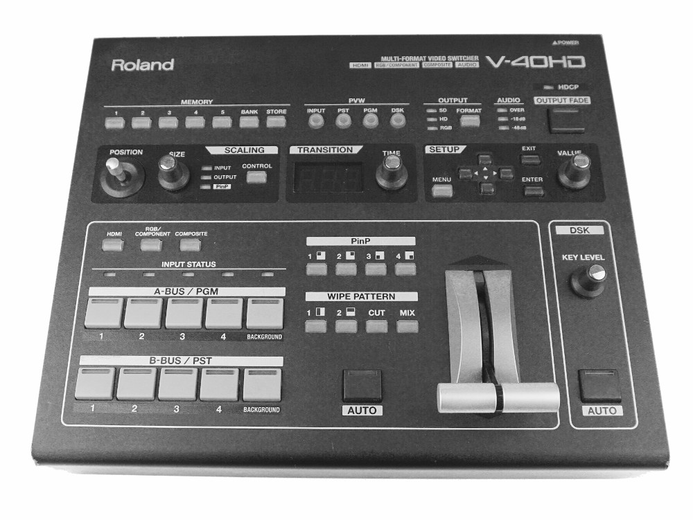 videomischpult Roland V-40 mieten Verleih Berlin Videomixer