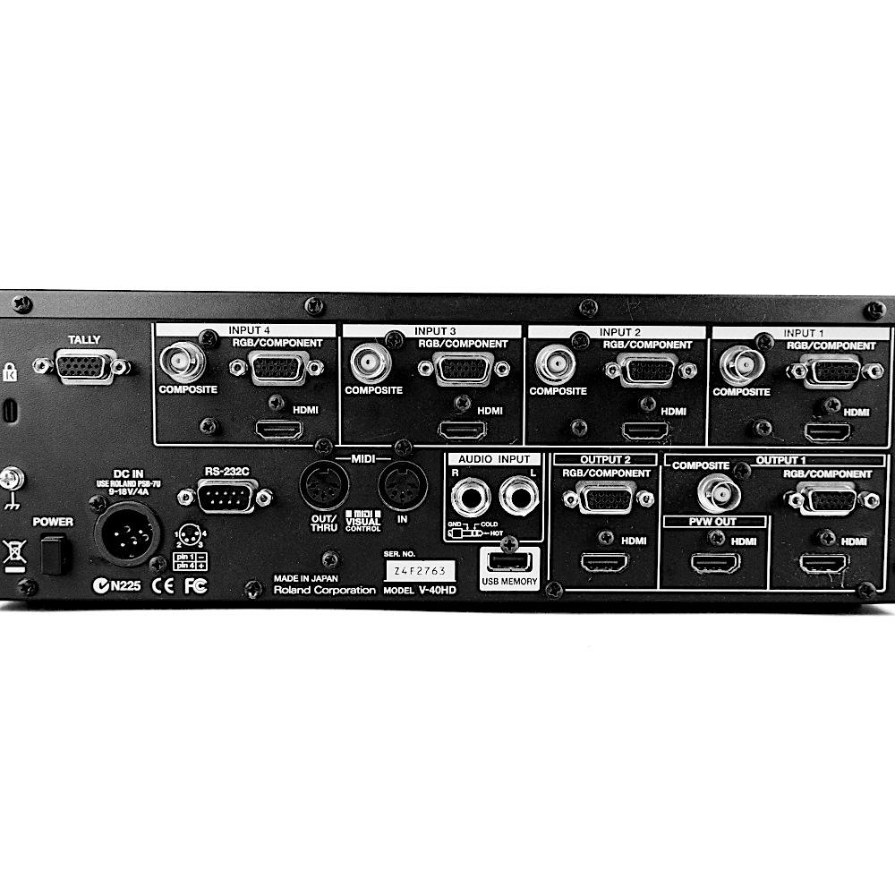 videomischpult Roland V-40 mieten Verleih Berlin ausleihen Mixer Videopult