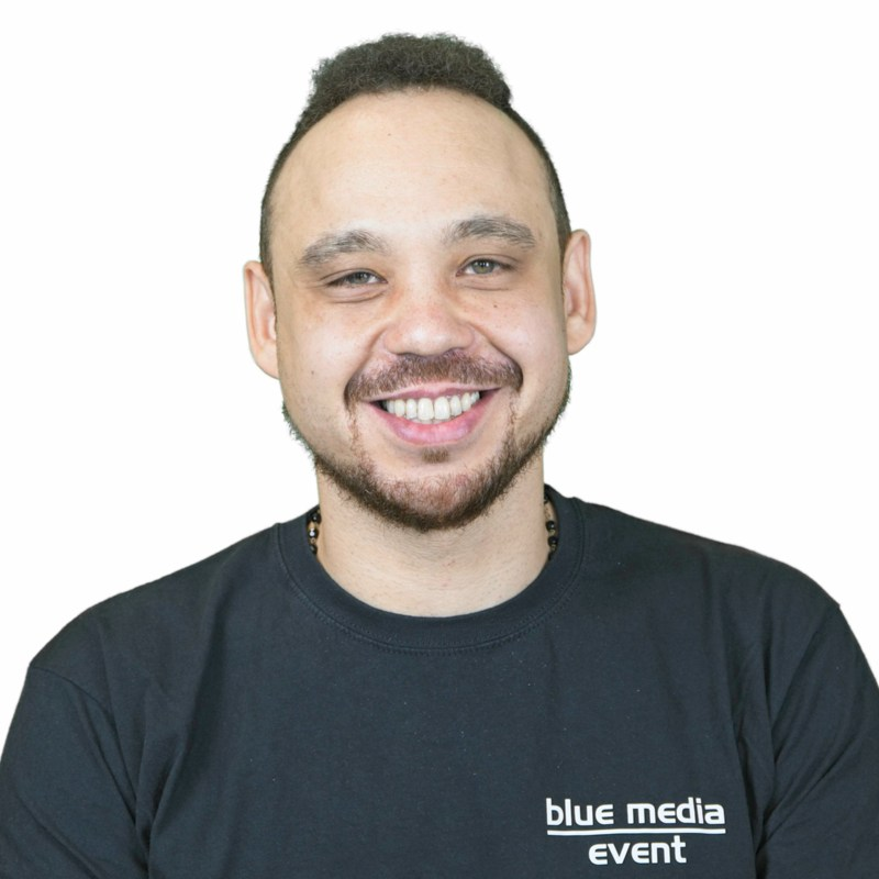 blue media event GmbH Berlin Lager Veranstaltungstechniker Sven Becht